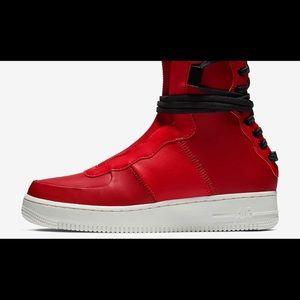 Nike Women's AF1 Rebel XX Air Force 1 Red